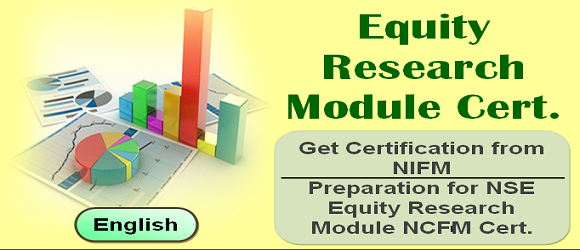Equity Research NCFM Certification