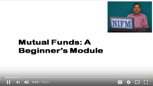 NIFM Certified Mutual Fund Beginners Video-1