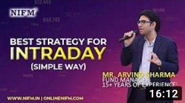 Best Strategy for Intraday Trading