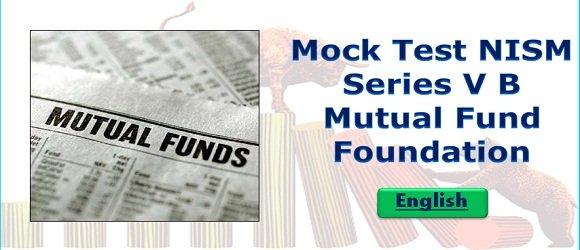 Mock Test NISM Series V B Mutual Fund Foundation