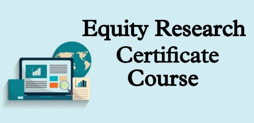 Equity Research Certification Course