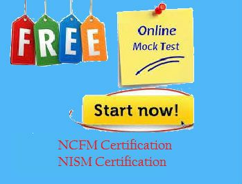 Free Mock Test NCFM NISM Certification