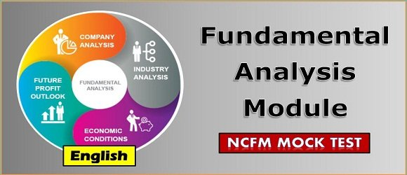 Mock Test Fundamental Analysis NCFM Certification