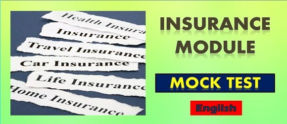 Mock Test Insurance Module NCFM Certification