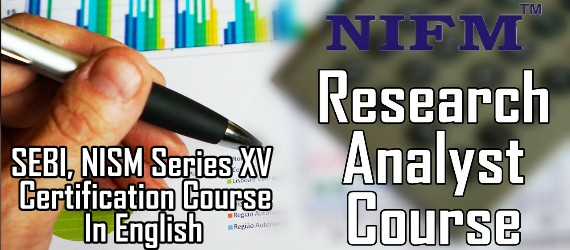 Research Analyst SEBI NISM Series XV Certification Course