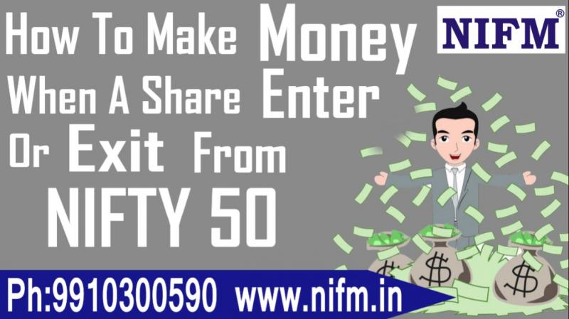 Impact of Entry & Exit of a Share from NIFTY